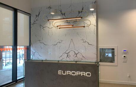 Europro Reception